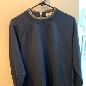 New no tag: JCrew factory sweatshirt with ruffle L